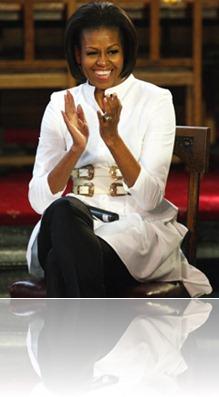 01-Michelle-Obama-Elizabeth Garrett Anderson girls school-2011 May