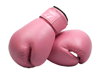 boxing gloves-pink
