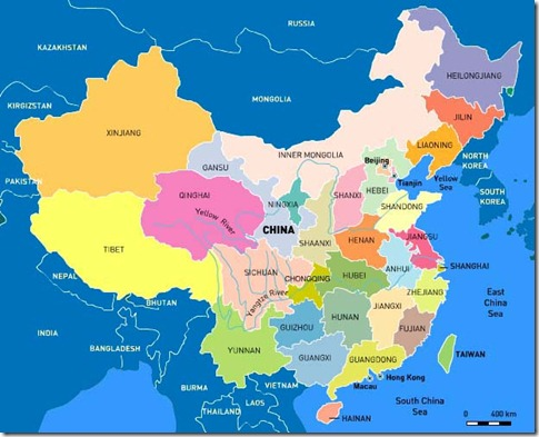 china-map administrative