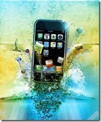 iPhone inspired photo manipulation