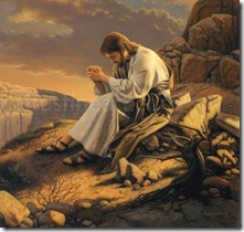 jesus-praying-the-desert