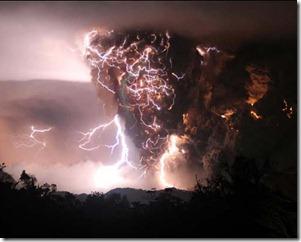 thunderstorm-Chilean volcanic storm