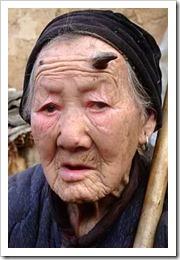 Zhang Ruifang - chinese grandma with horn2