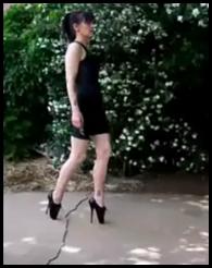 suzanziballetheels-tutorial for walking in ballet heels