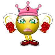 Queen Bee is annoyed