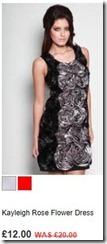 Kayleigh rose flower dress