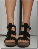 StealingBeauty-high heeled cork sandals