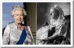 QEII and Queen Vic